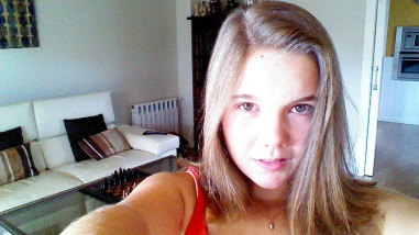 Elisa Carballo selfie